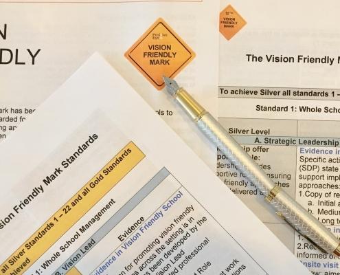 Vision Friendly Mark