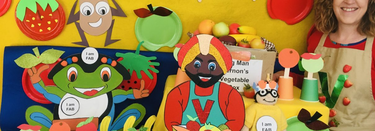 Veg Man Vernon on Marvin's Market Adventure