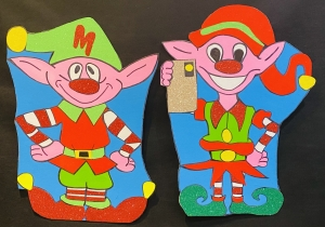 Magic Elf and Selfie Elfie
