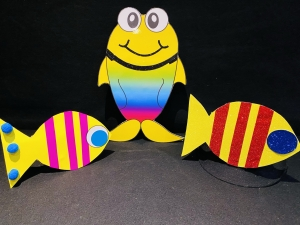 brightly coloured fish
