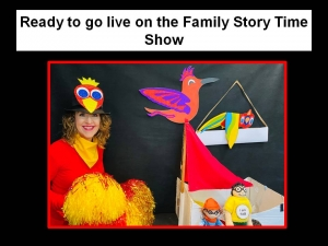 the Sparkly Box of Stories Story Time Show