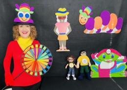Gwyn-Gwyn-Gwynnie-Gwyn with the characters from the Seaside Adventure